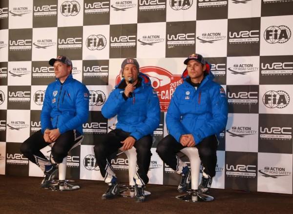 RALLYE-MONTE-CARLO-2015-Les-trois-pilotes-des-VW-POLO-photo-Jean-Francois-THIRY
