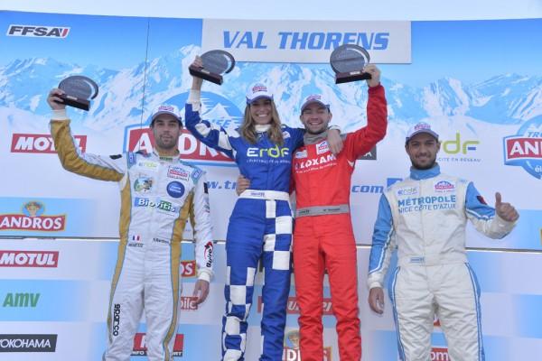 TROPHEE VAXIVIERE -VAL THORENS MATHIEU VAXIVIERE victorieux en ANDROS Electrique devant NATHANAEL BERTHON et CHRISTOPHE FERRIER