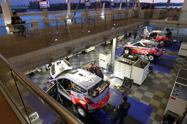 WRC-2016 -Les trois i20WRC du Team HYUNDAI
