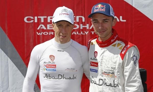 WRC 2016 Kris MEEKE et Stephane LEFEBVRE Team ABOU DHABI