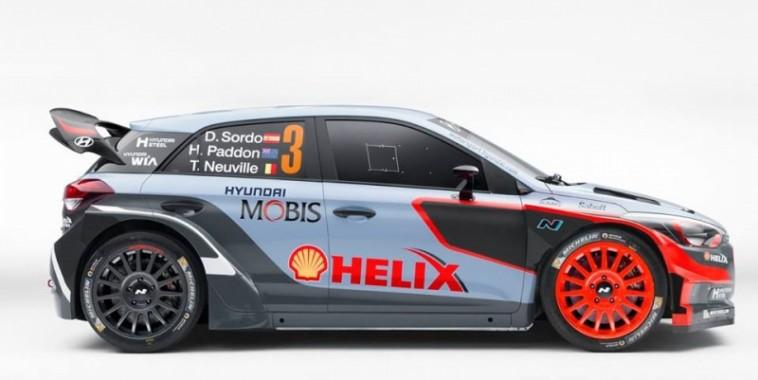 WRC 2016 La nouvelle HYUNDAI I20 WRC Nouvelle generation -