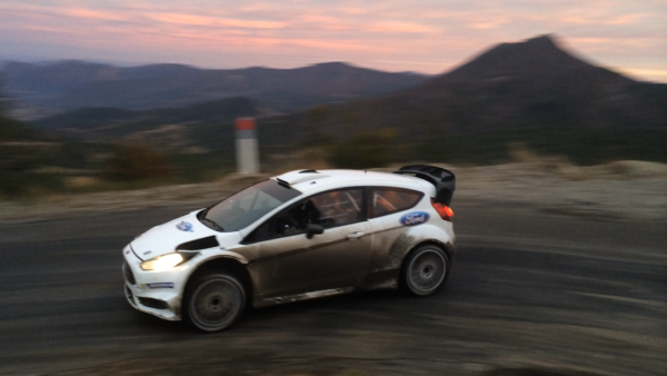 WRC 2016 Preparation du MONTE CARLO Vendredi 4 Decembre Test FORD M Sport Col de PERTY avec Eric CAMILLI Photo Jose GARRIDO