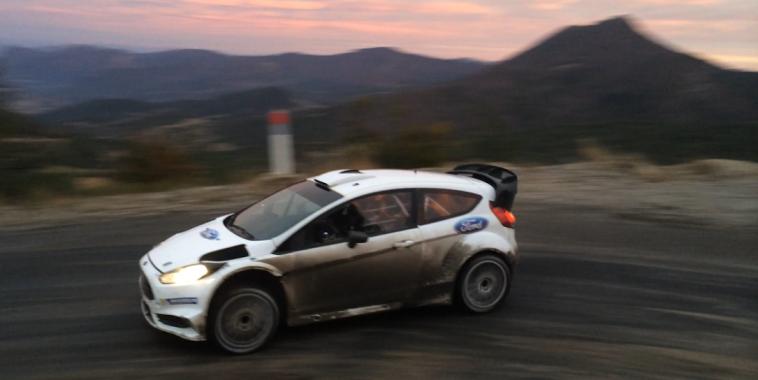 WRC 2016 Preparation du MONTE CARLO Vendredi 4 Decembre Test FORD M Sport Col de PERTY avec Eric CAMILLI Photo Jose GARRIDO