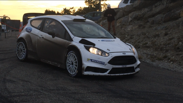 WRC 2016 Preparation du MONTE CARLO Vendredi 4 Decembre Test FORD M Sport Col de PERTY avec Eric CAMILLI Photo Jose GARRIDO.