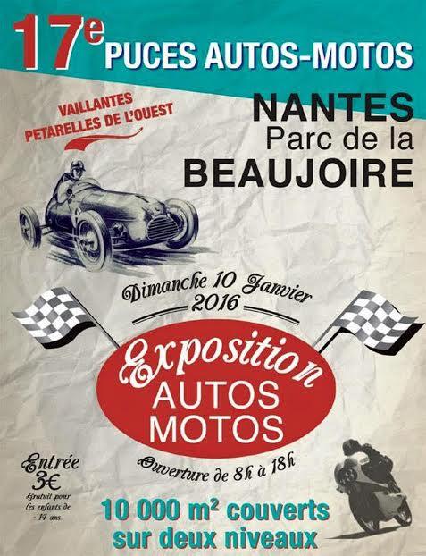 17ème Puces de Nantes - L'affiche de l'évènement