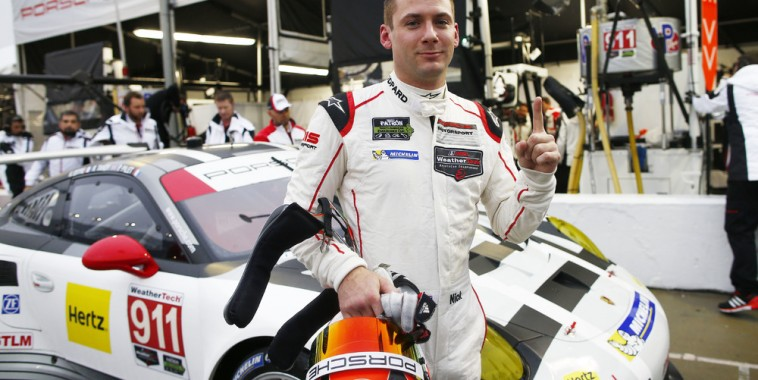 24 HEURES DE DAYTONA 2016 ---Porsche 911 RSR, Porsche North America - Nick Tandy le plus rapide des qualifications le 28 janvier