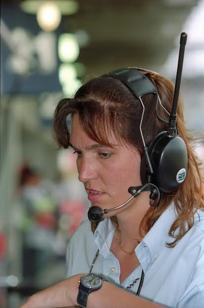 Carmen-ZIEGLER-Team-Manager-Sauber-1993-©-Manfred-GIET