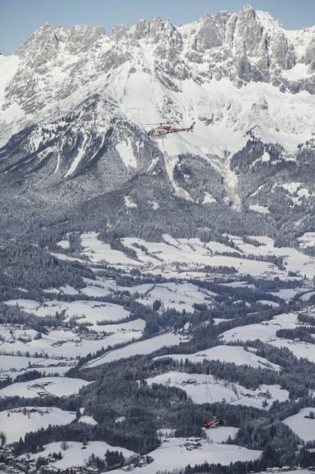 F1 - 14 Janvier 2016 - Max VERSTAPPEN sur les pistes de ski de KITZBUHEL en Autriche.