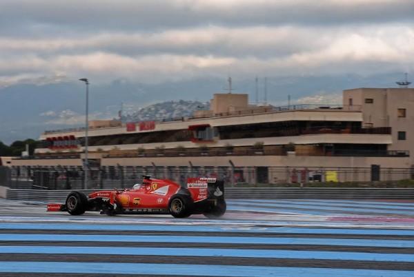 F1 2016 PAUL RICARD - Essai Pneumatiques PIRELLI -Seb VETTEL Scuderia FERRARI - mardi 26 Janvier - Photo Antoine CAMBLOR.