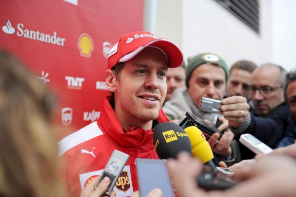 F1-2016-PAUL-RICARD-Test-PIRELLI-SEB-VETTEL-interview-Photo-Bernard-ASSET