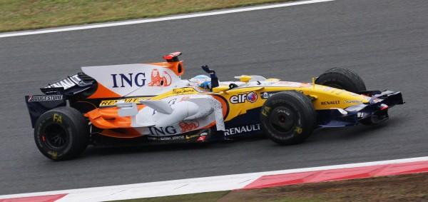 FERNANDO ALONSO Team RENAULT en 2008