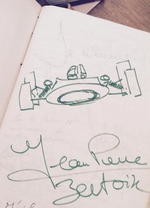 FRED-PRYSQUEL-LIVRE-D-Or-Dédicace-de-Jean-Pierre-BELTOISE
