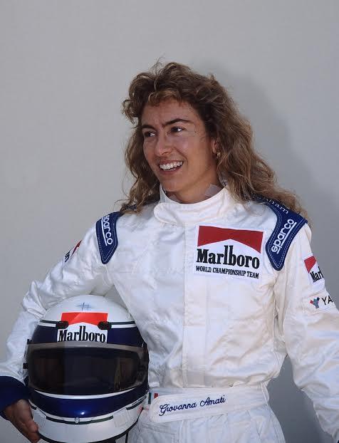 Giovanna-AMATI-la-dernière-femme-qui-a-vainement-tentée-de-se-qualifier-pour-un-GP-en-1993-©-Manfred-GIET.