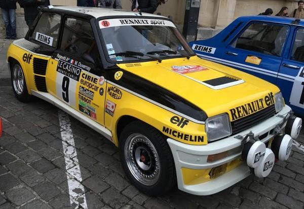 MONTE CARLO HISTORIQUE 2016 - La R5 Turbo de Jean RAGNOTTI et Michel DUVERNAY