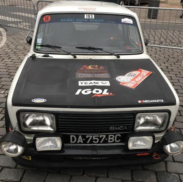 MONTE CARLO HISTORIQUE 2016 - SIMCA 1000 Rallye 2 de 1976 de Jean Jacques LESAGE et Marc TOURNEUX