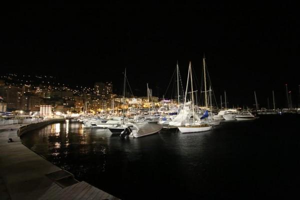 Monté Carlo Historique 2016 - Le port ce samedi soir 30 janvier - Photo Jean-François THIRY