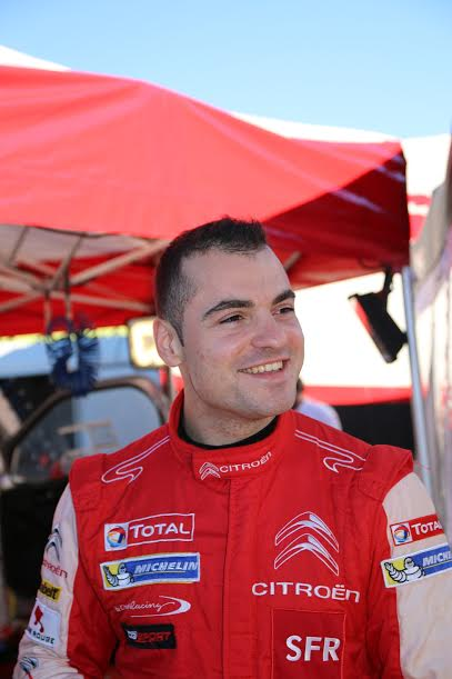 RALLYE DU VAR 2015 -QUENTIN GILBERT Portrait - Photo Jean Francois THIRY