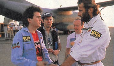 THIERRY SABINE et DANIEL BALAVOINE PARIS DAKAR 1986