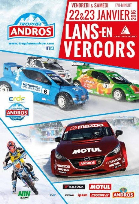 TROPHEE ANDROS 2016 Affiche LANS en VERCORS