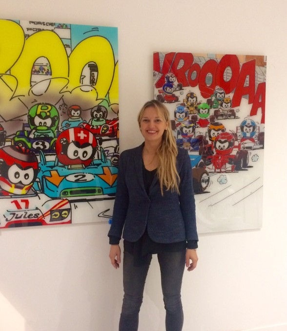 VROOAArt-Yvon-AMIEL Sveta MARLIER la propriétaire de la galerie