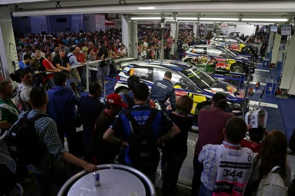 WRC 2015 PORTUGA Assistance equipe VW Motorsport