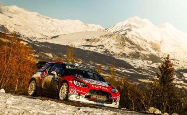 WRC 2016 MONTE CARLO DS3 de KRIS MEEKE
