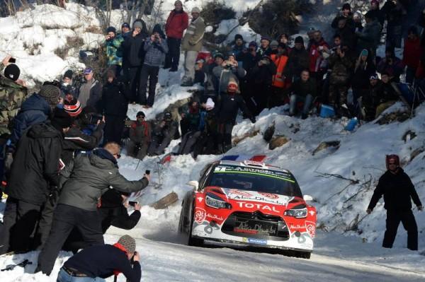 WRC 2016 - MONTE CARLO - Kris MEEKE DS3 Team ABOU DHABI