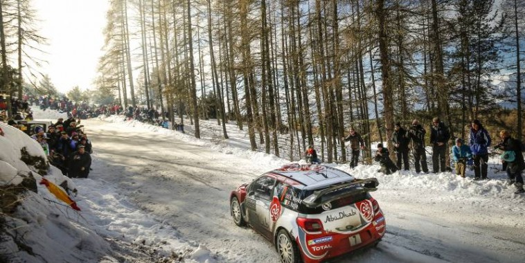 WRC 2016 - MONTE CARLO - Kris MEEKE DS3 Team ABOU DHABI ----