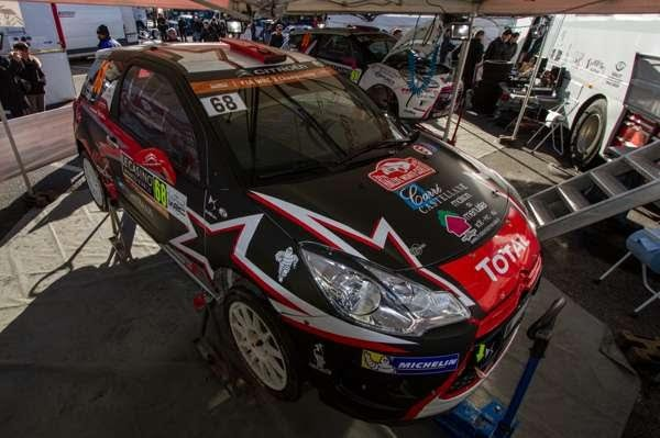 WRC-2016-MONTE-CARLO-La-DS3-de-DUBERTet-POUJOL-avant-le-Shakedown.