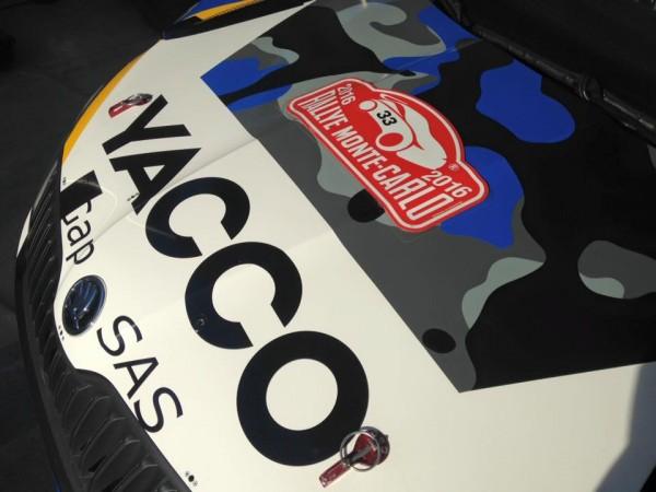 WRC 2016 MONTE CARLO - La SKODA de JULIEN MAURIN