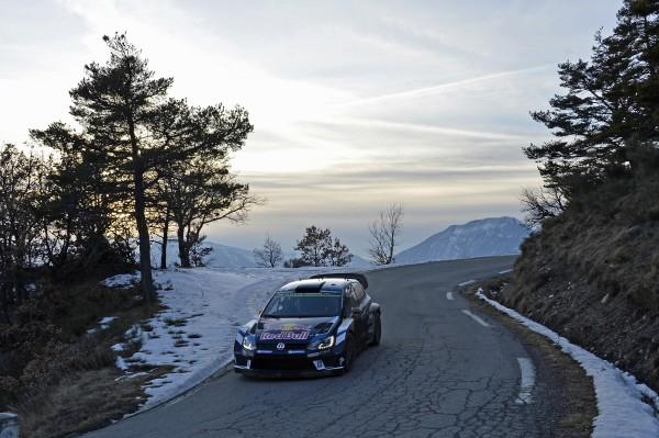 WRC 2016 MONTE CARLO La VW POLO WRC de LATVALA