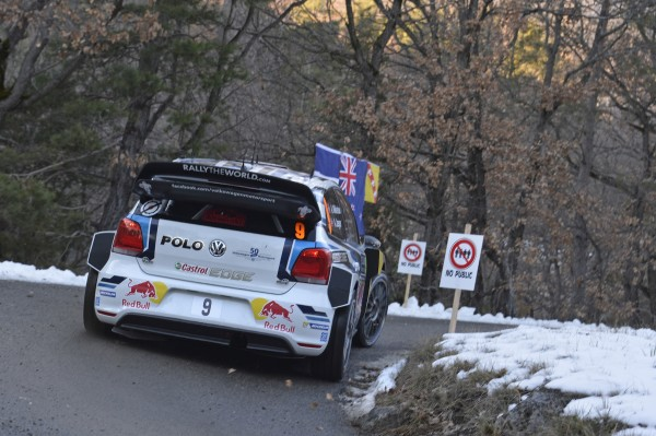 WRC 2016 MONTE CARLO - La VW Polo WRC de Andreas MIKKELSEN