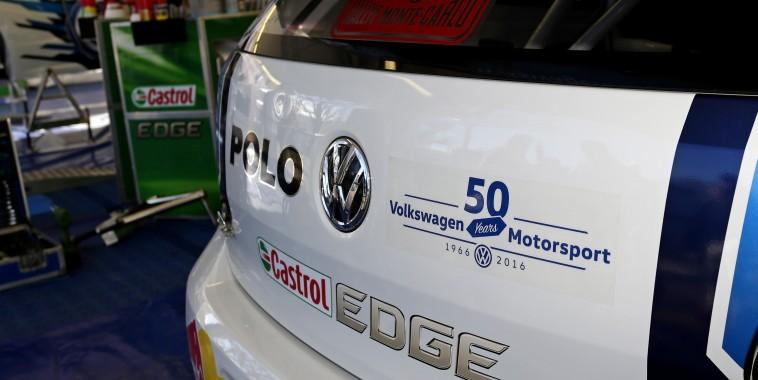 WRC 2016 MONTE CARLO - La VW Polo WRC de Seb OGIER