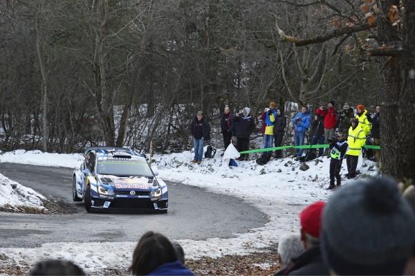 WRC 2016 MONTE CARLO - La VW Polo WRC de Seb OGIER.