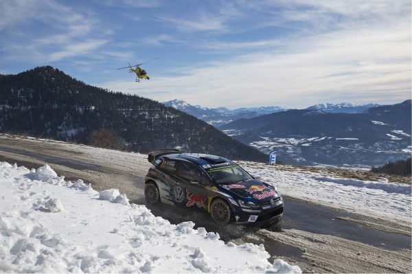 WRC 2016 MONTE CARLO - POLO WRC de Seb OGIER.