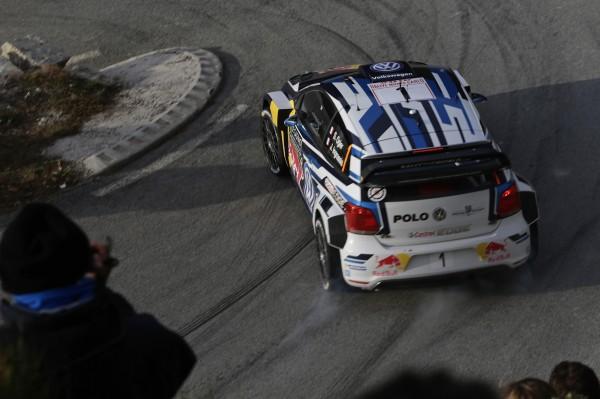 WRC 2016 MONTE CARLO Seb OGIER et Julien INGRASSIA remportent l'ES16 la Power stage