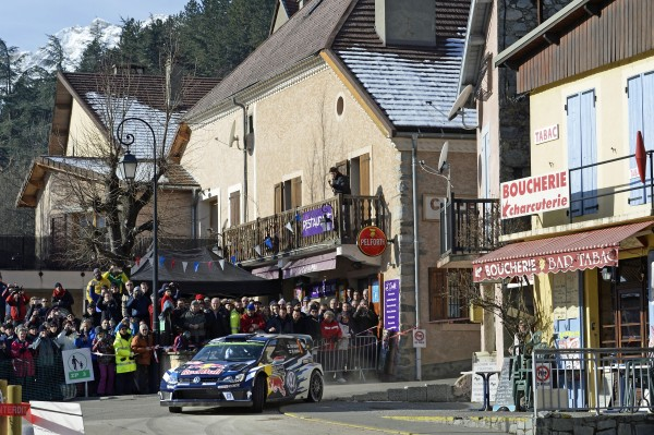 WRC 2016 MPNTE CARLO - La POLO WRC de Jari Matti LATVALA vendredi 22 fevrier