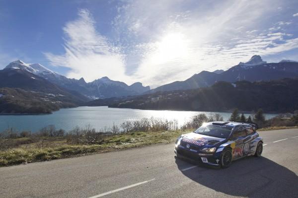 WRC 2016 MPNTE CARLO - La POLO WRC de Seb OGIER vendredi 22 fevrie