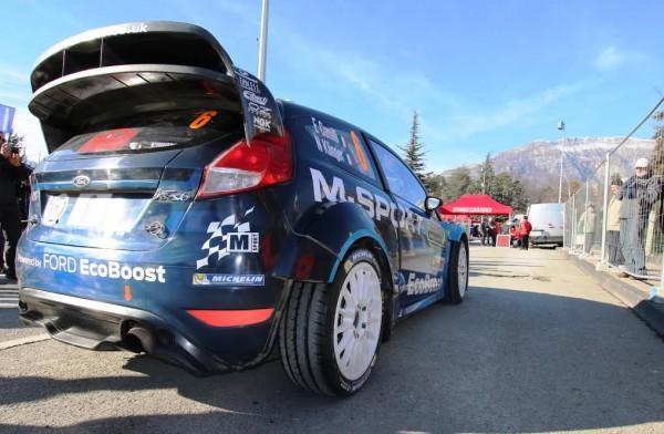 WRC 2016 Monté Carlo Eric CAMILLI-Nicolas KLINGER partent de leur assustance avant leur sortie de route photo Jean-François THIRY.