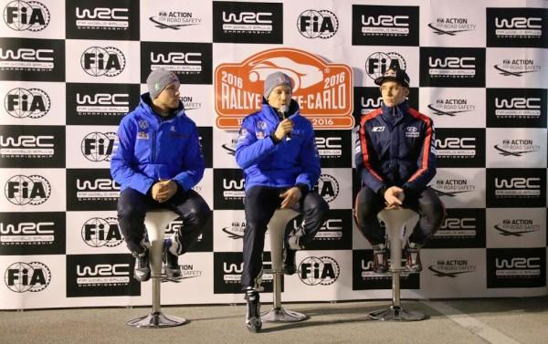 WRC-2016-Monte-Carlo-Conférence-de-presse-des-trois-premiers-OGIER-MIKKELSEN-NEUVILLE-Photo-Jean-François-THIRY