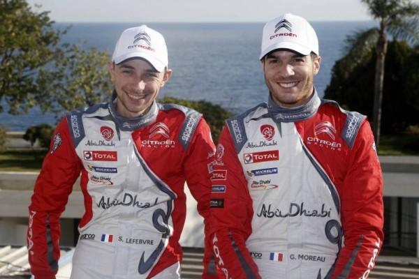 WRC-2016-STEPHANE-LEFEBVRE-et-GABIN-MOREAU-5éme-et-HEUREUX-le-24-Janvier-en-Principauté-CITROEN-DS3-WRC