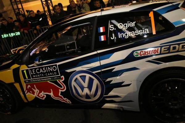 WRC-Monté-Carlo-2016-La-VW-Polo-de-Seb-OGIER-au-depart-de-MONTE-CARLO-photo-Jean-François-THIRY