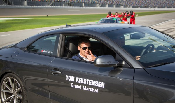 24 HEURES DAYTONA 2016 Tom KRISTENSEN GRAND MARSHALL