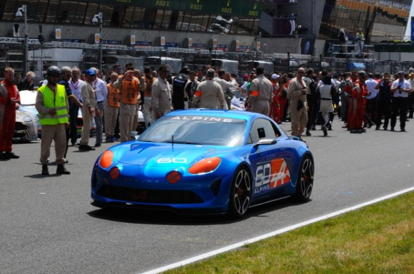 24 Heures du Mans 2015 - Présentation d'un concept car Alpine - Photo Patrick Martinoli