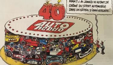 AUTO HEBDO fete ses 40ans ce mercredi 10 fevrier 2016