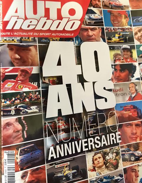 AUTO HEBDO fete ses 40ans ce mercredi 10 fevrier 2016 66