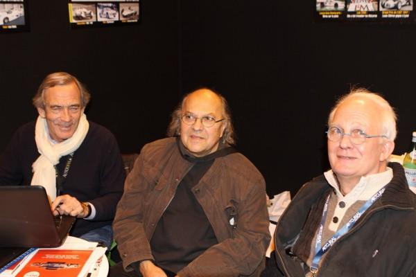 AutoDiva Gérard Gamand, Max Bonnin (ex pilote F3 & F2), Michel Mallier (sorcier ès monoplace) © Jacques SamAlens