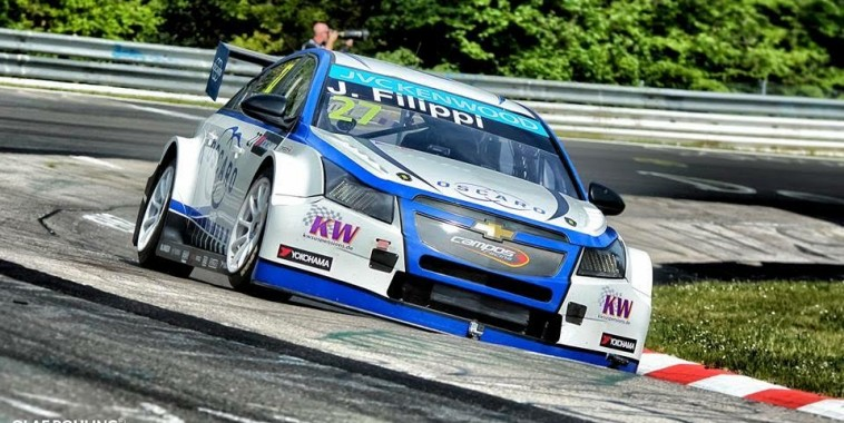 WTCC 2015  Nurburgring- La CHEVROLET de John FILIPPI