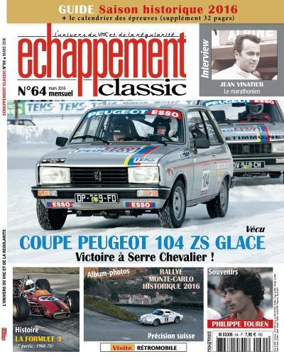 ECHAPPEMENT CLASSIC N°64 MARS 2016