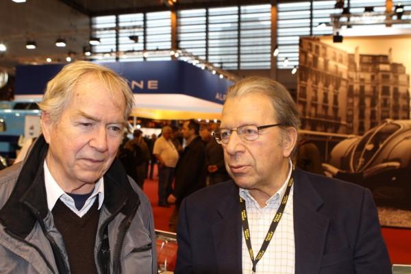 Etienne Vigoureux (ex pilote F3 1000cc) & Michel Hommell © Jacques SamAlens